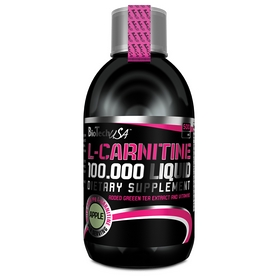 Жиросжигатель Biotech L-Carnitine + Chrome 100 000 Liquid (500 мл)