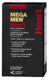 Комплекс витаминов и минералов GNC Mega Men Heart (90 капсул)