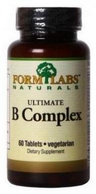 Комплекс витаминов Form Labs Ultimate B-Complex (90 капсул)
