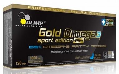 Комплекс жирных кислот Olimp Nutrition Gold Omega 3 Sport Edition (120 капсул)