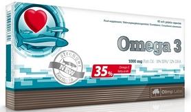 Комплекс жирных кислот Olimp Nutrition Omega 3 (35%) 1000 mg (60 капсул)