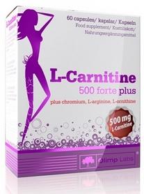 Фото 1 к товару Жиросжигатель Olimp Nutrition L-Carnitine 500 forte plus (60 капсул)