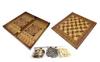 Набор настольных игр 3 в 1 (шахматы, шашки , нарды) W5001F - фото 1