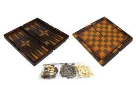 Набор настольных игр 3 в 1 (шахматы, шашки , нарды) W5001H