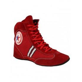 Фото 1 к товару Обувь для занятий самбо (самбетки) Green Hill ATAKA красные