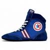 Обувь для занятий самбо (самбетки) Green Hill ATAKA синие - фото 1