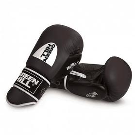 Перчатки боксерские Green Hill Wolf черные