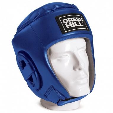 Шлем боксерский Green Hill GLORY синий