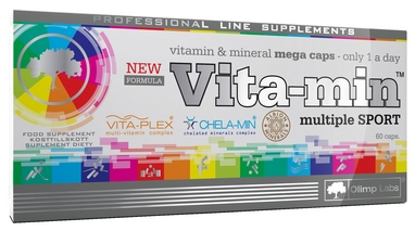 Комплекс витаминов и минералов Olimp Nutrition Vita-min Multiple Sport (60 капсул)