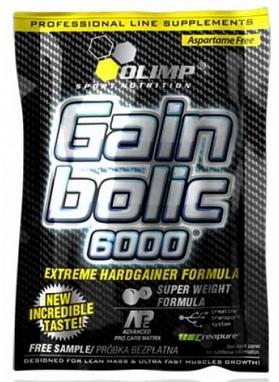 Гейнер Olimp Nutrition Gain Bolic 6000 bag (1 кг)