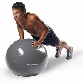 Фото 2 к товару Мяч для фитнеса (фитбол) ProForm 75 см серый