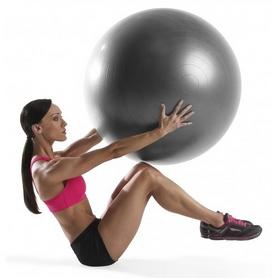 Фото 3 к товару Мяч для фитнеса (фитбол) ProForm 75 см серый