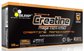 Креатин Olimp Nutrition Creatine Mega (120 капсул)