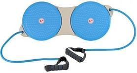Диск здоровья двойной массажный Pro Supra Double Twister с эспандерами
