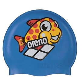 Шапочка для плавания Arena Multi Junior Cap 5 Arena World синяя