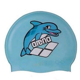 arena Шапочка для плавания Arena Multi Junior Cap 5 Arena World голубая 91388-20-C