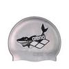 Шапочка для плавания Arena Multi Junior Cap 5 Arena World cерая - фото 1