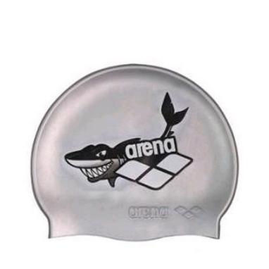 Шапочка для плавания Arena Multi Junior Cap 5 Arena World cерая