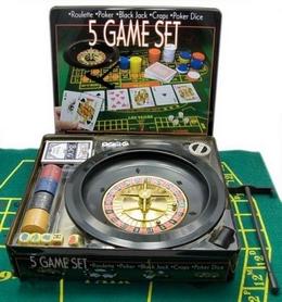 """Набор игровой """"Большое казино"""" 5 в 1 IG-4393"""