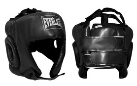 Шлем боксерский открытый Everlast BO-4493-R черный