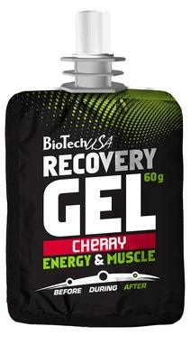 Напиток восстанавливающий BioTech Recovery Gel cherry 60 г