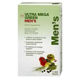 Комплекс витаминов и минералов Form Labs GNC Um Green Mens Multivitamin (60 капсул)