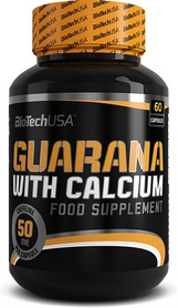 Энергетик BioTech Guarana with Calcium (60 капсул)