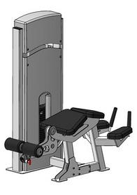 Тренажер для мышц разгибателей бедра лежа Fit Way Factory Bridge Style A 102