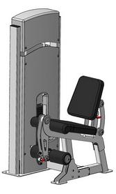 Тренажер для мышц разгибателей бедра сидя Fit Way Factory Bridge Style A 103