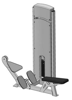Блок для мышц спины (нижняя тяга) Fit Way Factory Bridge Style A 104