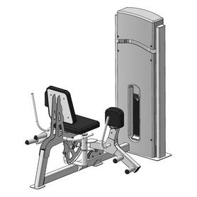 Тренажер для приводящих мышц бедра (сведение ног) Fit Way Factory Bridge Style A 108