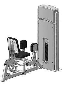 Тренажер для отводящих мышц бедра (разведение ног) Fit Way Factory Bridge Style A 109