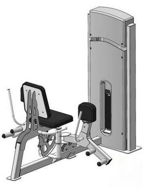 Тренажер для приводящих и отводящих мышц бедра Fit Way Factory Bridge Style A 108.1