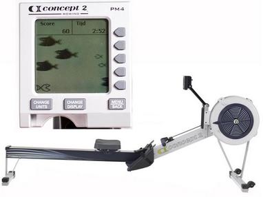 Гребной тренажер NordicTrack Concept 2 PM4 monitor