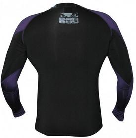 Фото 2 к товару Рашгард с длинным рукавом Bad Boy Engage black/purple