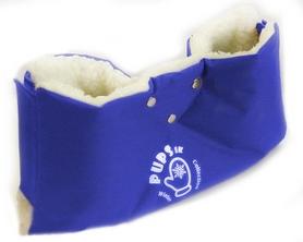 Муфта на санки или коляску PUPSik синяя