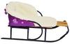 Комплект матрасик на санки и чехол на ножки PUPSik фиолетовый - фото 2