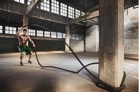 Фото 2 к товару Канат для кроссфита ZLT Combat Battle Rope (12 м)