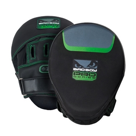 Лапы боксерские Bad Boy Pro Series 3.0 Precision Green (2 шт)