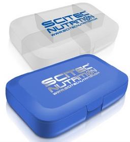 Таблетница Scitec Nutrition голубая