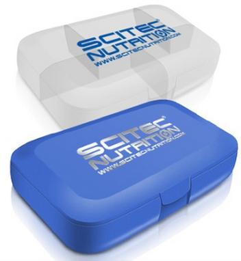 Таблетница Scitec Nutrition белая