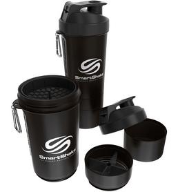 Шейкер 3-х камерный SmartShake Original 800 мл gunsmoke black