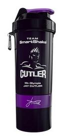 Шейкер 3-х камерный SmartShake Jay Cutler 800 мл