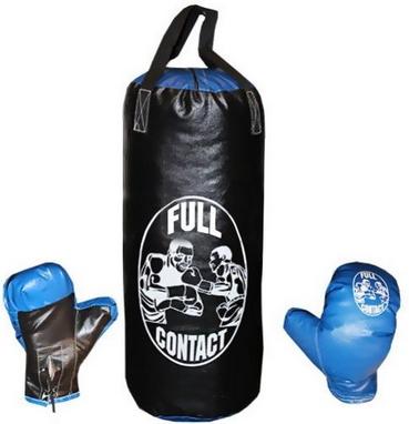 Набор боксерский детский Full Contact (42х18 cм) черный