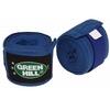 Бинт боксерский Green Hill Polyester (3.5 м) синий (2 шт) - фото 1