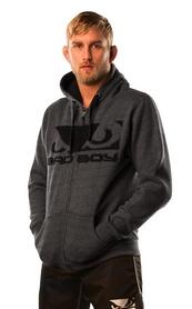 Фото 3 к товару Кофта спортивная Bad Boy Fleece dark grey
