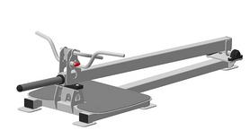 Т-образная тяга с упором на ноги Fit Way Factory Bridge Style A 219