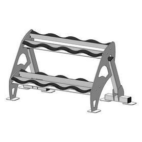 Стойка под гантели (для набора из 4 пар) Fit Way Factory Bridge Style A 223