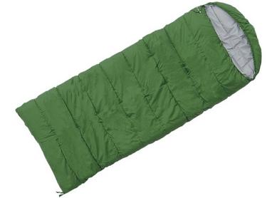 Мешок спальный (спальник) Terra Incognita Asleep Wide 200 левый зеленый
