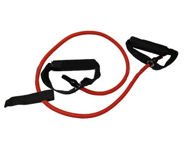 Эспандер трубчатый для фитнеса Pro Supra FI-2659-R 30LB красный